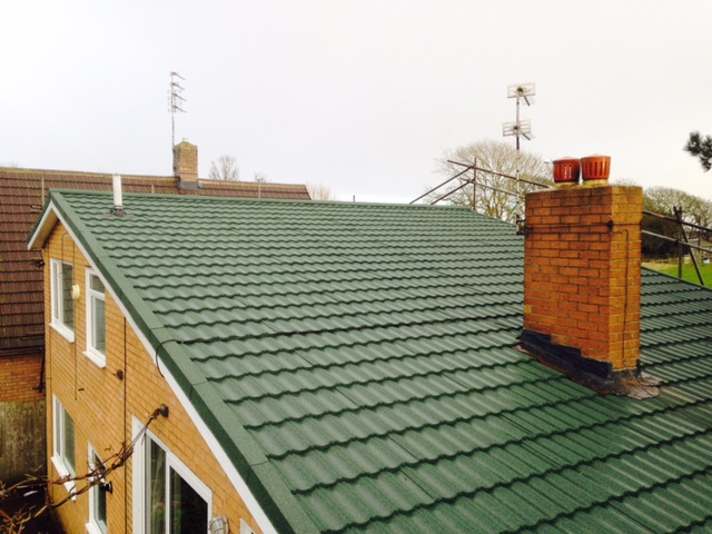 Metrotile Lightweight Roof Tiles Replace Old Concrete